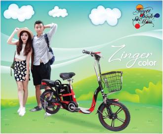 Đón năm học mới với HKbike Zinger Color